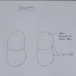Chausson Taille 6-9 mois